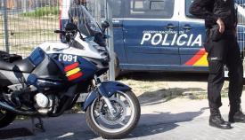 Dotaciones del Cuerpo Nacional de Policía. Foto: NG