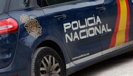 Los agentes de la Policía Nacional fueron increpados durante su actuación