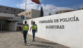 Comisaría del Cuerpo Nacional de Policía en Algeciras. Foto:NG