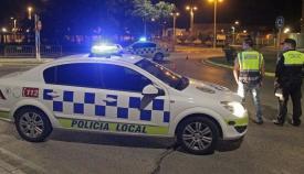 Un vehículo de la Policía Local de Algeciras en una imagen de archivo