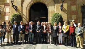 Aniversario del 11M a las puertas del ayuntamiento de Algeciras