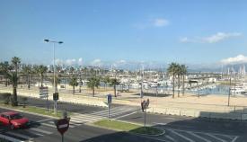 Imagen del Puerto Deportivo 'Alcaidesa Marina', en La Línea
