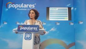 Carmen Sánchez, portavoz provincial del Partido Popular