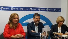 María Muíño, Juan Pablo Arriaga y María José García Pelayo
