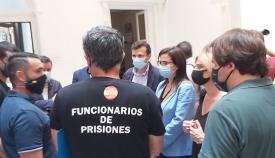 La popular Ana Vázquez y sindicatos policiales de la provincia de Cádiz