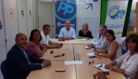 Reunión de los representantes comarcales del PP en el Campo de Gibraltar