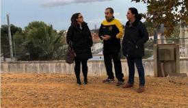 Marina García, en su visita a Los Dalton