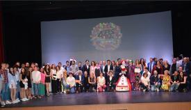 Foto de familia con todos los galardonados