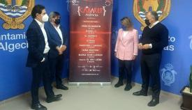 Cartel de relumbrón para el Cabaret Festival en Algeciras