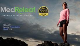 Presentación de la empresa MedReleaf, líder del cannabis medicinal