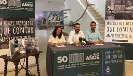 Presentación en La Línea de la campaña aniversario del cierre de la verja