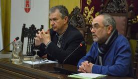 Anotnio Pérez Girón, a la derecha, en imagen de archivo