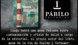 Cartel de la presentación del libro de J.M. Santón