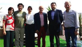 Los participantes en la presentación de la programación de verano 2018