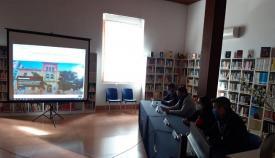 Un momento de la presentación de la web, esta mañana. Foto: lalínea.es