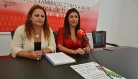 Córdoba y Jiménez, en la presentación de las becas