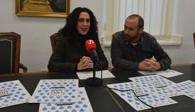 Dolores Marchena presentó la II Feria del Libro de San Roque