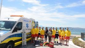 Presentación de los servicios de socorrismo en las playas de San Roque