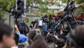 Las asociaciones de periodistas piden seguridad en las convocatorias