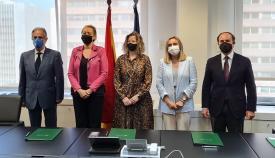 Firmado el Protocolo para impulsar la autopista ferroviaria Algeciras-Zaragoza