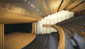 Proyecto del nuevo Teatro Nacional. Foto NG