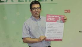 Juan Chacón ha dejado este martes de ser secretario general del PSOE linense