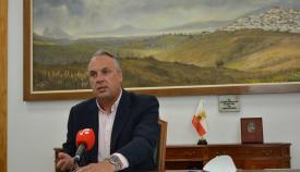 Juan Carlos Ruiz Boix, alcalde de San Roque. Foto NG