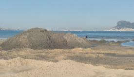 Agaden reclamará por las arenas que se están trasvasando en El Rinconcillo