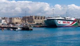 Una imagen de archivo del Puerto de Tarifa
