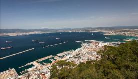 El Campo de Gibraltar, visto desde el Peñón