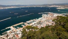 La Bahía, desde el Peñón de Gibraltar
