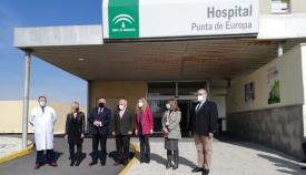 La Junta invierte más de dos millones en el Punta Europa en obras