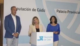 Ruiz Boix, a la izquierda, una imagen de archivo junto a Irene García