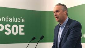 Juan Carlos Ruiz Boix, este lunes en rueda de prensa