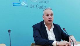 Juan Carlos Ruiz Boix, portavoz del PSOE en la DIputación. Foto: NG