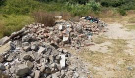La escombrera de Guadiaro denunciada por el PIVG