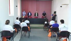 Los controladores de playas en Algeciras empiezan a incorporarse