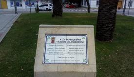Homenaje a las víctimas sanroqueñas del nazismo