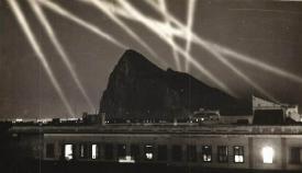 Alerta en Gibraltar por ataques  aéreos  durante la II Guerra Mundial. Archivo  APG