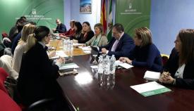 Salud trabaja para integrar a la comarca en la Red de Acción Local