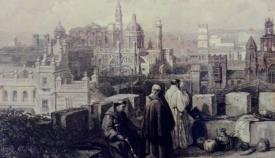 Religiosos andaluces en una ilustración de 1836