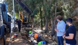 Emalgesa evita un corte de suministro de agua a 25.000 personas en Algeciras