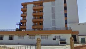 Fachada de la antigua residencia de ancianos de la Diputación. Foto: NG