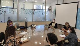 Reunión praparatoria de Acorrucarte 2021. Foto: lalínea.es