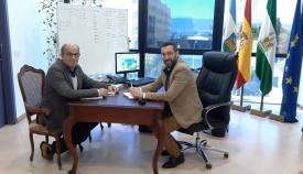 Reunión entre Juan Franco y Lorenzo Pérez Periáñez