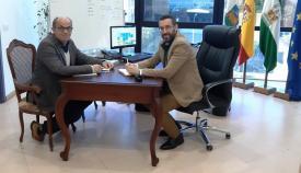 Lorenzo Pérez Periáñez y Juan Franco, en una imagen de archivo