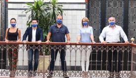 El alcalde de Algeciras recibe al cineasta algecireño Alexis Morante
