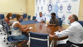 Apymeal y Ayuntamiento buscan solución al comercio de Algeciras