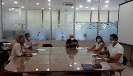 La reunión sobre el Punto Limpio ha tenido lugar esta mañana