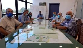 Los belenistas se han reunido esta mañana con el alcalde de La Línea